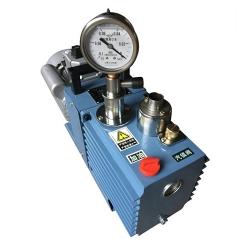 2XZ-2 rotary vane vacuum pump with negative pressure meter